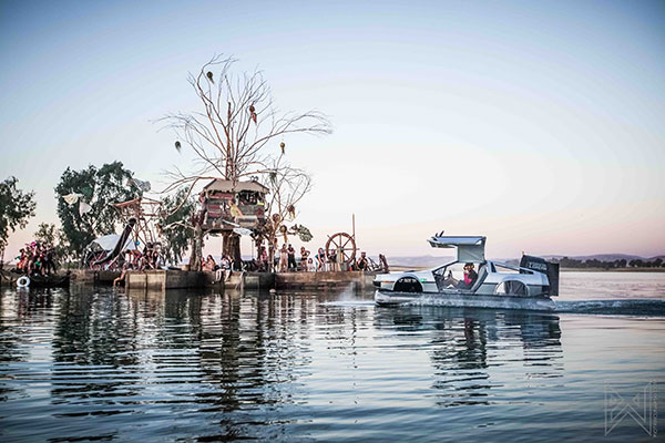 Symbiosis Gathering 2016 Art Boats