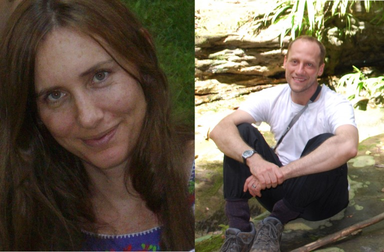Katherine Maddox and Nick Menache