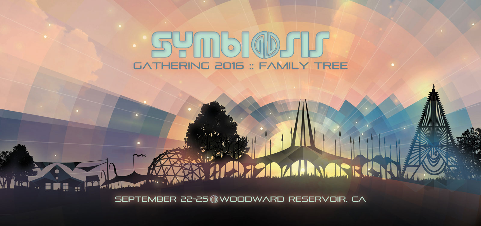 Symbiosis Gathering 2016: Family Tree: September 22-25, Woodward Reservoir, CA